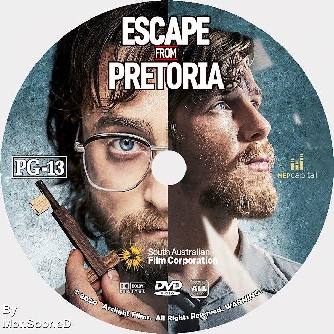 dvd cover Escape From Pretoria 2020 Dvd Disc Dvd Cover