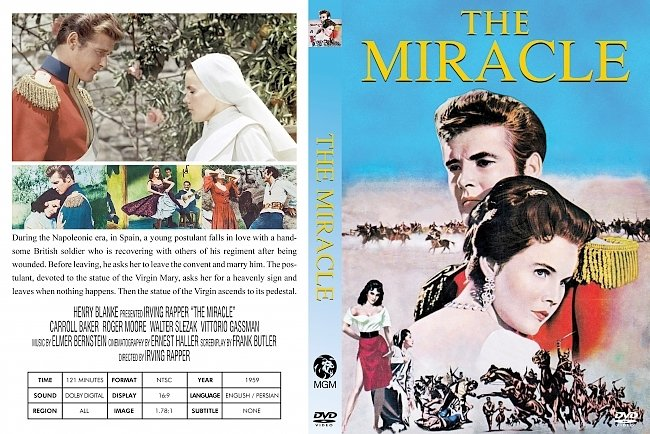 dvd cover Miracle, The 1959 Dvd Cover