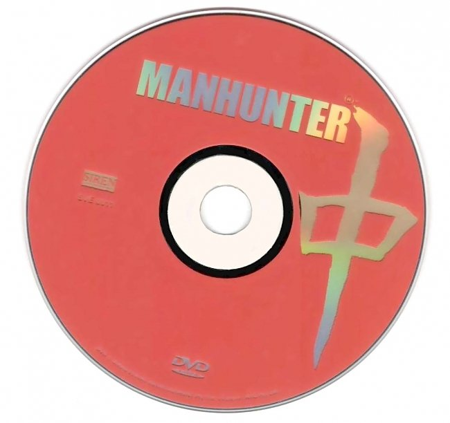 dvd cover Manhunter 1986 Disc Label Dvd Cover