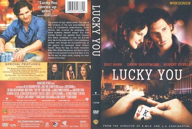 dvd cover Lucky You 2007 Dvd Cover