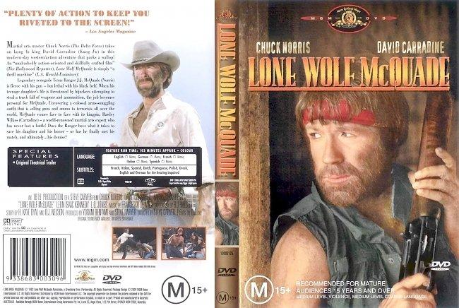 dvd cover Lone Wolf Mcquade 1983 Dvd Cover