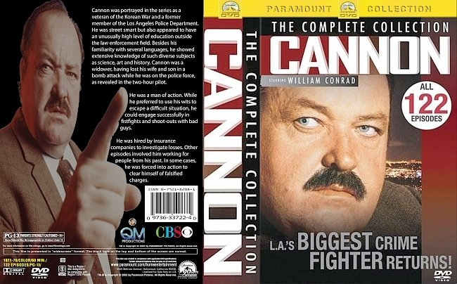 dvd cover Cannon Complete Collection 1971-76 Dvd Cover