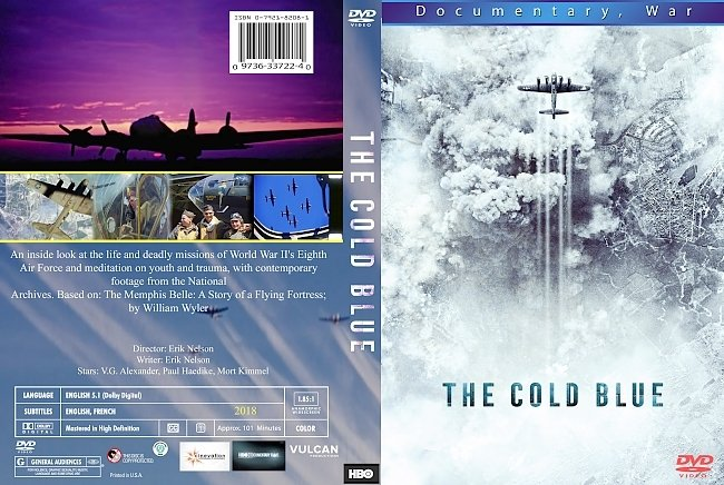 dvd cover The Cold Blue 2018 Dvd Cover