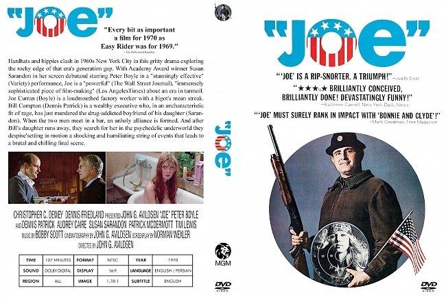 dvd cover Joe 1970 Dvd Cover
