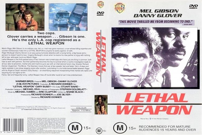 dvd cover Lethal Weapon 1987 Dvd Cover