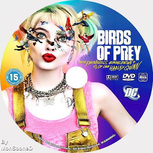 dvd cover Birds Of Prey 2020 Dvd Cover