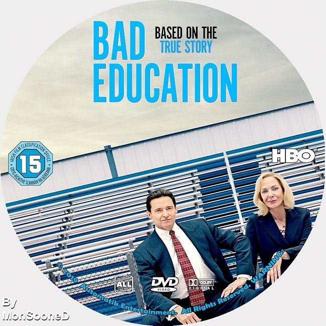 dvd cover Bad Education 2019 Dvd Cover
