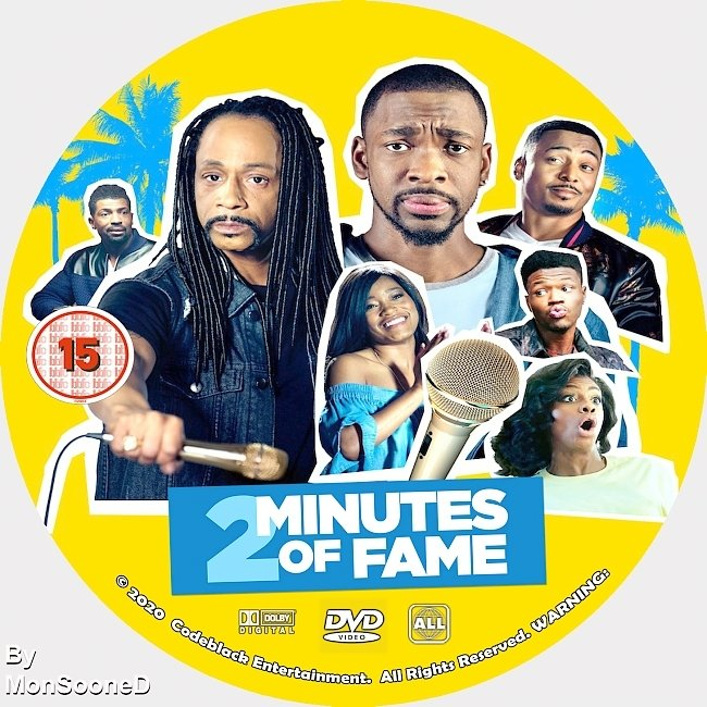 dvd cover 2 Minutes Of Fame 2020 Dvd Cover