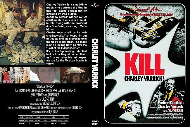 dvd cover Charley Varrick 1973 Dvd Cover