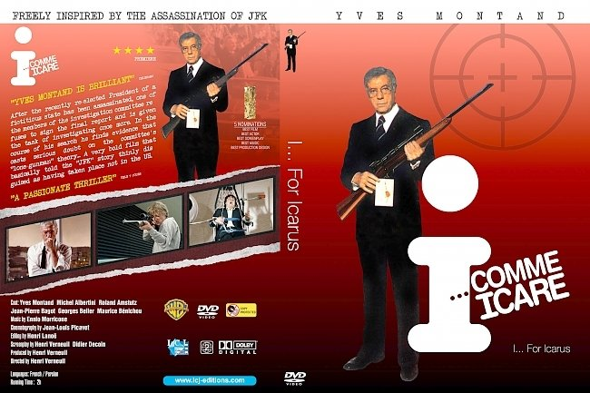 dvd cover I... Comme Icare 1979 Dvd Cover