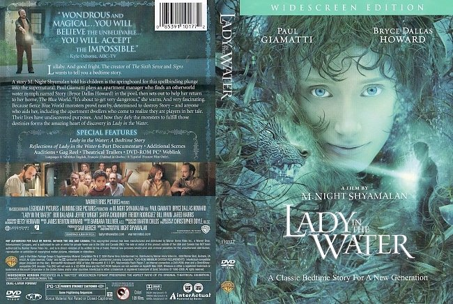 dvd cover Lady In The Water 2006 Dvd Cover