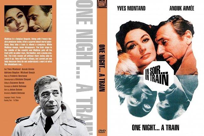 dvd cover Un Soir, Un Train 1968 Dvd Cover