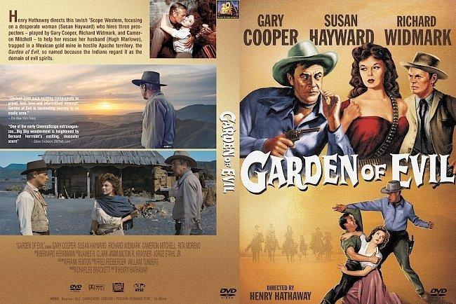 dvd cover Garden Of Evil 1954 Dvd Cover