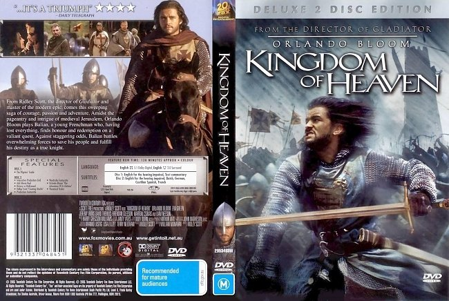 dvd cover Kingdom Of Heaven 2005 Dvd Cover