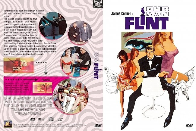 dvd cover Our Man Flint 1966 Dvd Cover