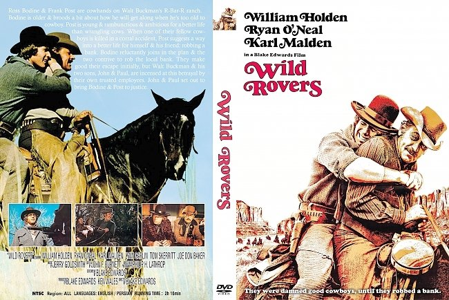 dvd cover Wild Rovers 1971 Dvd Cover