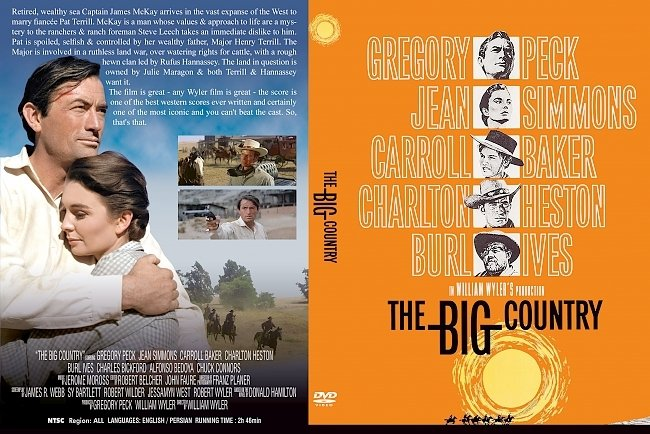dvd cover Big Country, The 1958 Dvd Cover