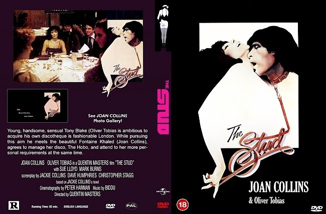 dvd cover Stud, The 1978 Dvd Cover