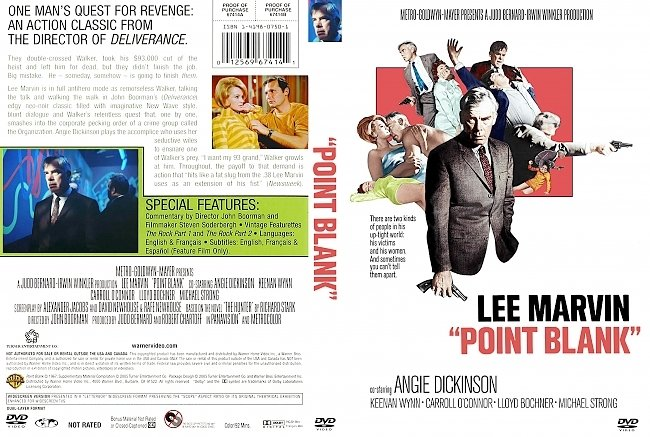 dvd cover Point Blank 1967 Dvd Cover