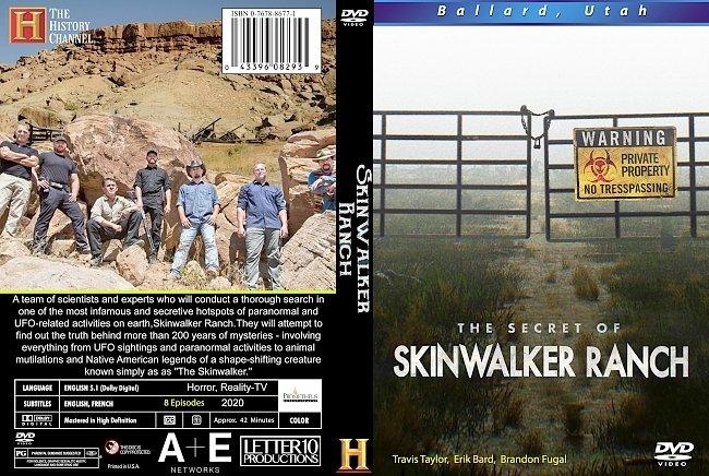 dvd cover The Secret Of Skinwalker Ranch 2020 Dvd Cover
