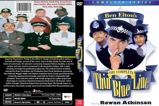 dvd cover The Thin Blue Line 1995–1996 Dvd Cover