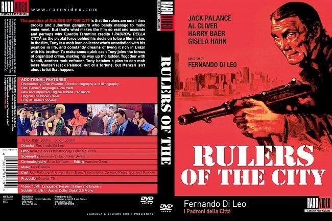 dvd cover Padroni Della Città, I 1976 Dvd Cover