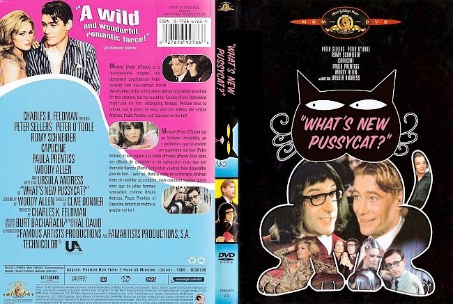 dvd cover What's New Pussycat Dvd Cover