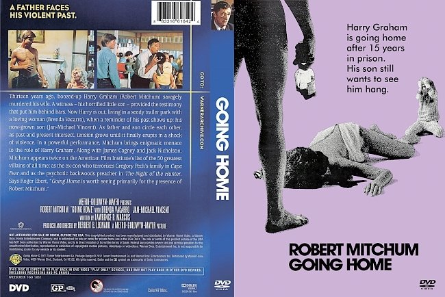dvd cover Going Home 1971 Dvd Cover