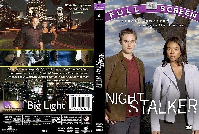 dvd cover Night Stalker Series 2005 Dvd Cover