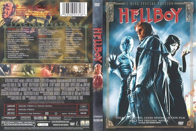dvd cover Hellboy - Special Edition 2004 Dvd Cover