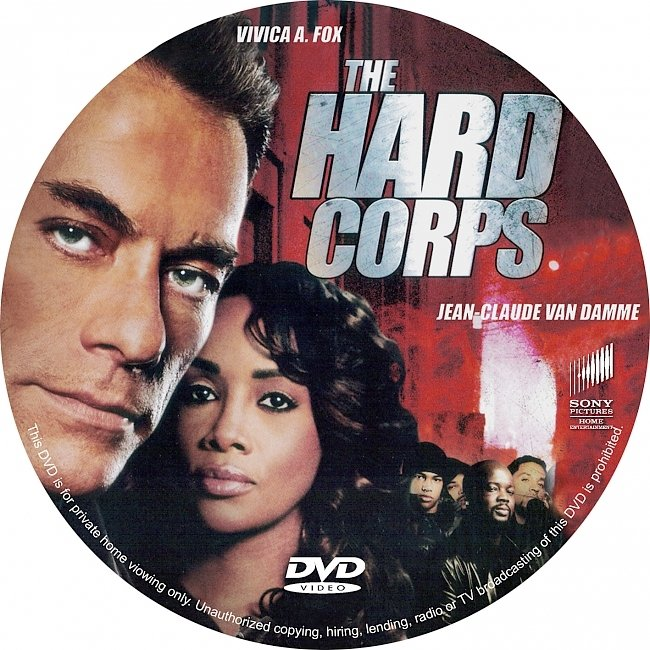 dvd cover The Hard Corps Dvd Cover
