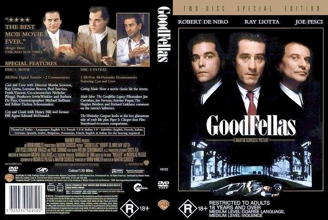 dvd cover GoodFellas 1990 Dvd Cover