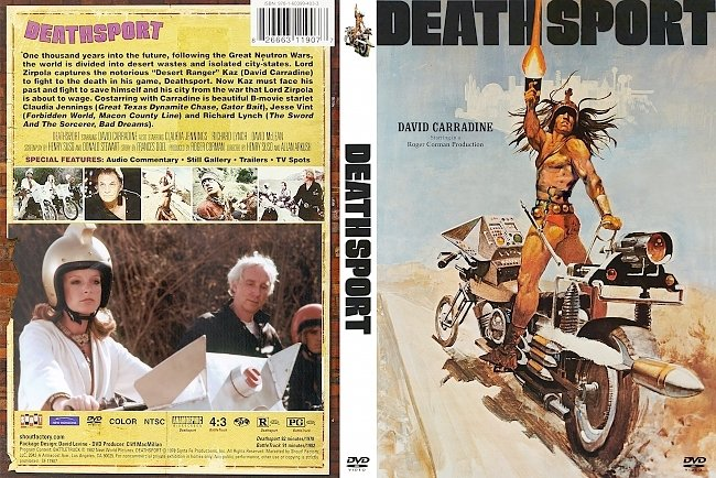 dvd cover Deathsport 1978 Dvd Cover