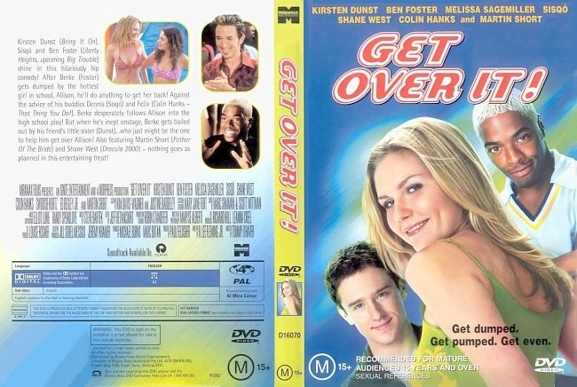 dvd cover Get Over It 2001 Dvd Cover
