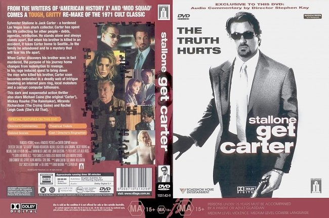 dvd cover Get Carter 2000 Dvd Cover