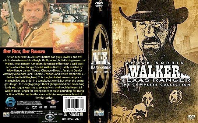 dvd cover Walker Texas Ranger Series 1993-2001 Dvd Cover