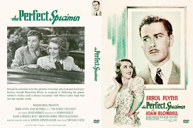 dvd cover Perfect Specimen, The 1937 Dvd Cover