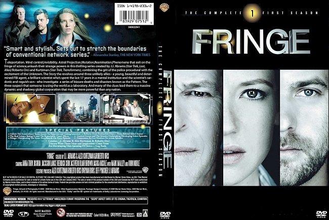 dvd cover Fringe - Season 1 2009 Dvd Cover