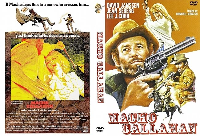 dvd cover Macho Callahan 1970 Dvd Cover