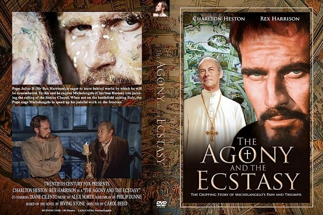 dvd cover Agony And The Ecstasy, The 1965 Dvd Cover