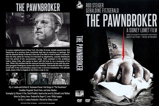dvd cover Pawnbroker, The 1965 Dvd Cover
