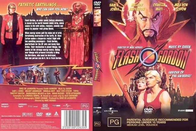 dvd cover Flash Gordon 1980 Dvd Cover