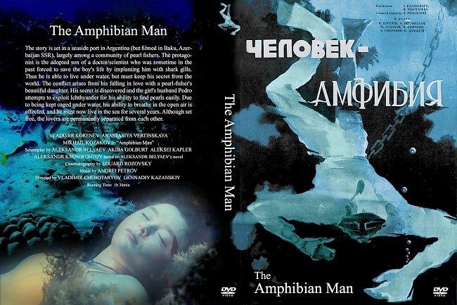 dvd cover Chelovek-Amfibiya 1962 Dvd Cover