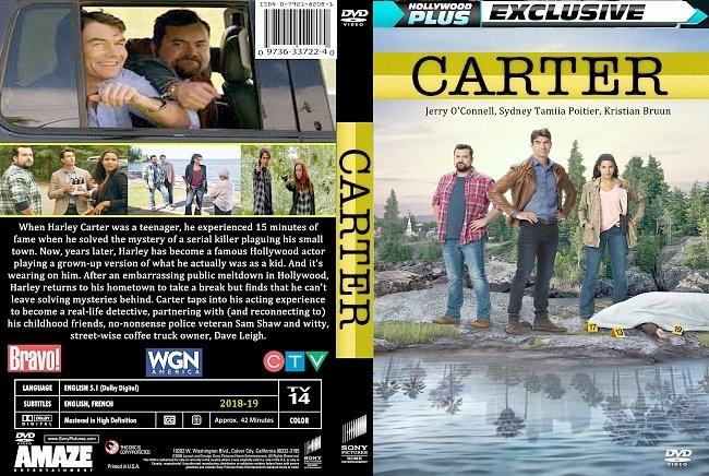dvd cover Carter Series 2018-19 Dvd Cover