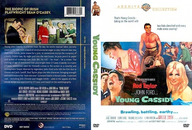 dvd cover Young Cassidy 1965 Dvd Cover