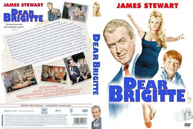 dvd cover Dear Brigitte 1965 Dvd Cover