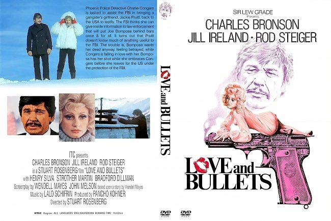 dvd cover Love And Bullets 1979 Dvd Cover