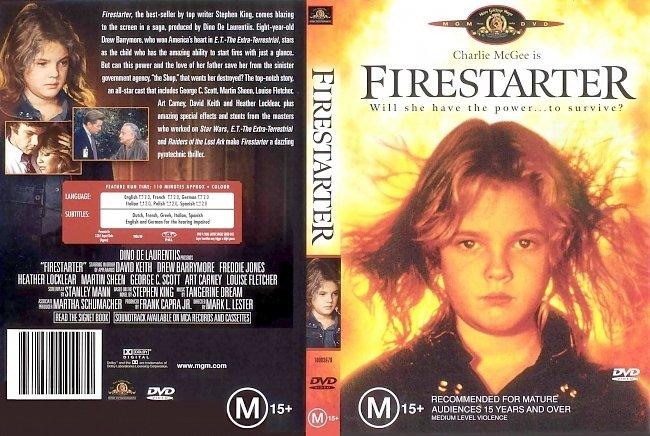 dvd cover Firestarter 1984 Dvd Cover