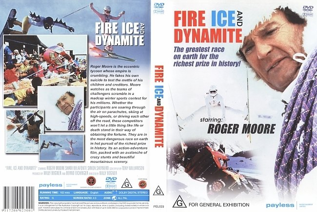 dvd cover Fire Ice And Dynamite 1990 Dvd Cover