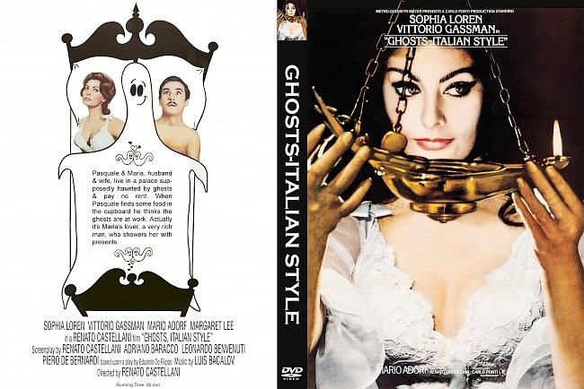 dvd cover Ghosts-italian Style Dvd Cover